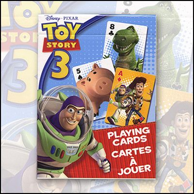 Magic Trick Toy Story 3 Playing Cards by USPCC (6 pack